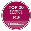 Top 20 Learning providers logo