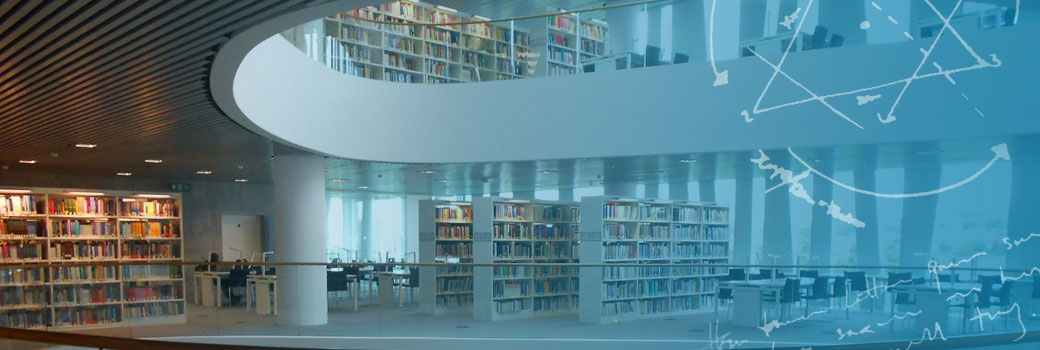 University of Aberdeen library (with graphic overlay)
