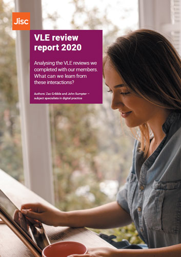VLE review report 2020 cover