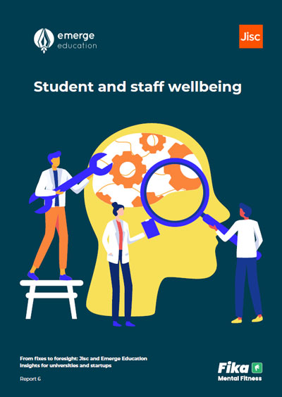 Student and staff wellbeing report cover