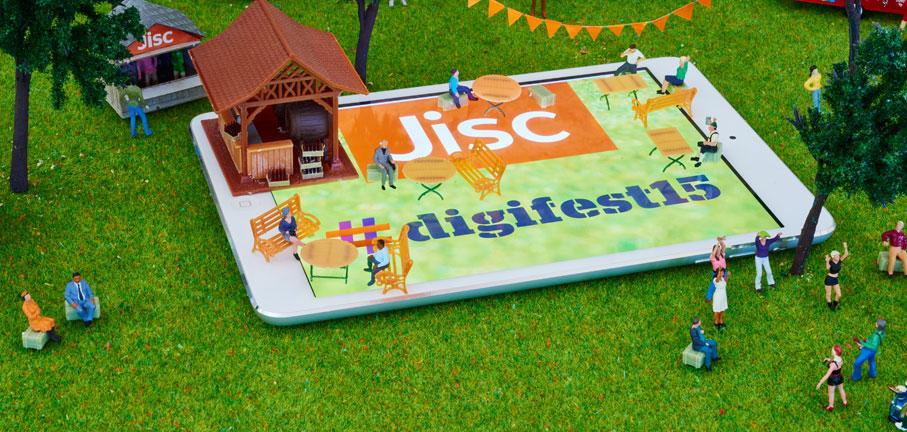 Jisc Digital Festival - aerial view (inspired by flickr.com/photos/jdhancock)