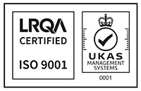 ISO9001 with UK National Accreditation