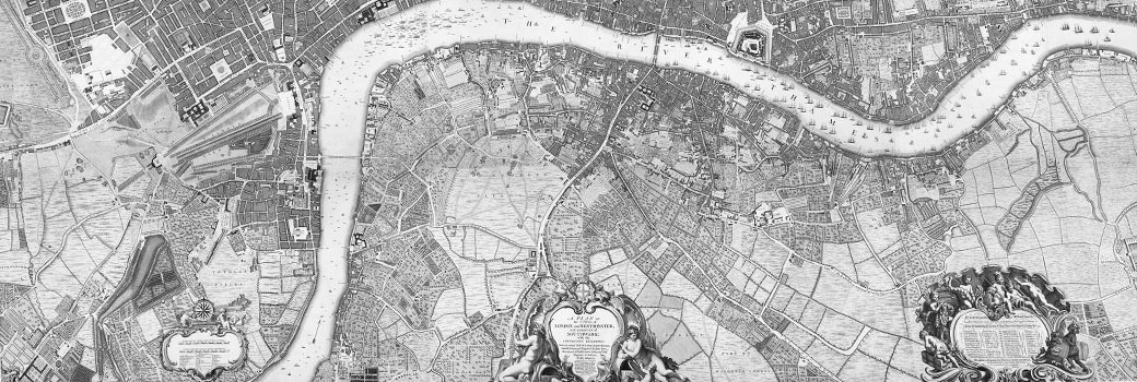 John Rocque's 1746 map of London