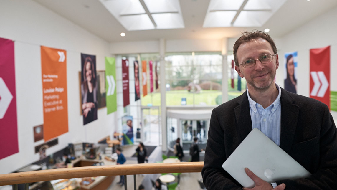 Nick Moore, director of IT services, University of Gloucestershire