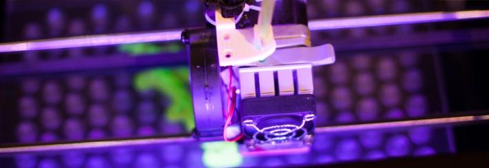 3D printer at Jisc Digital Festival 2014