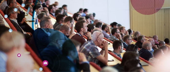 Delegates in the audience at Networkshop45
