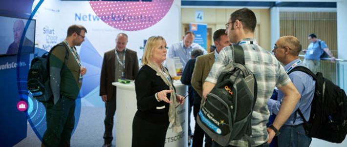 Exhibitors at Networkshop45