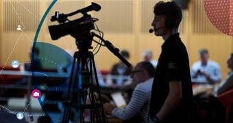 Filming at Networkshop45